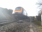 HST at Uffington on the Up Main