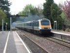 An HST approaches Kemble Down Platform