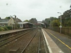 Kemble Station, Looking towards Swindon