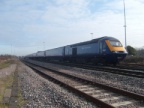An HST at the east end