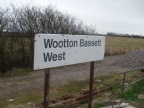 Wootton Bassett West Sign