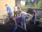 Digging out of foundations