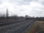 HSTs pass at South Marston