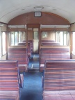 Inside our DMU at the South Devon Railway