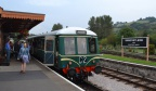 SDR Visit - Our DMU in the platform at Buckfastleigh