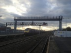 New Gantry at the West end of Swindon Station