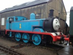 Thomas lends a hand with shunting