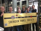 New SPS Banner in New Street PSB Relay Room.
