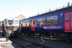 GWR Railcar and FGW visitor