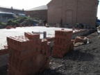 Brick Laying Commences