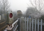 Minety Level Crossing Jan 14th 2012 5