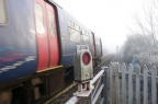 Minety Level Crossing Jan 14th 2012 6