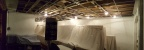 Now for some panoramic trickery! From a vantage point next to the window, the extent of the ceiling grid can be seen.