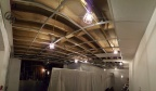 They say the camera never lies...yet, don't worry, the ceiling grid isn't bowed! Another panoramic shot from behind the Panel, looking towards the Bristol East Panel room.